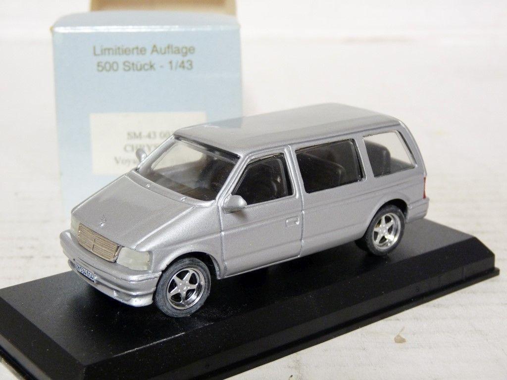 Swiss-Mini SM-43-003 1 43 1994 CHRYSLER VOYAGER coche modelo de resina de edición limitada hecho a mano