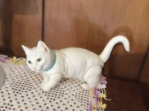 Companion-Posable-White-Jointed-Kitty-Cat-Doll-For-Your-BJD-Doll-MSD-17-To-20