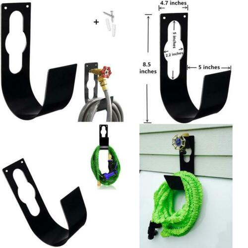 Garden Hose Hanger Wall Mount Heavy Duty Hose Holder Hook Fit To 25Ft 50Ft 75Ft