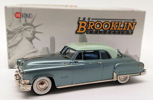 Brooklin-escala-1-43-BRK110-1952-Chrysler-Imperial-Newport-Gris-Verde-Metalico