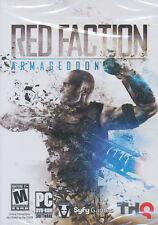 RED FACTION ARMAGEDDON Armagedon Shooter PC Game - US Version - BRAND NEW!
