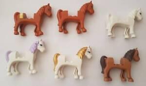 Efficace Lego Minifig Animal Cheval Horse (93083) Choose Model Surface LustréE
