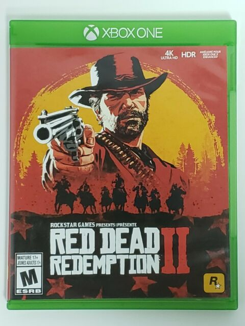 Red Dead Redemption 2 (Microsoft Xbox One, 2018) Map Included - Pre-Owned