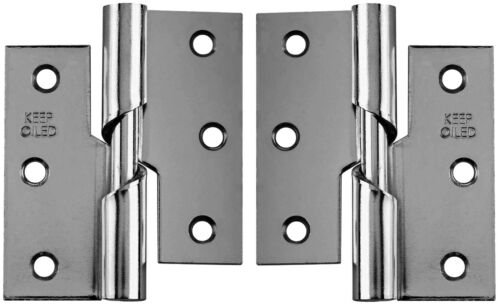 Rising Butt Door Hinges Self Coloured Steel Right or Left - Price Per Hinge