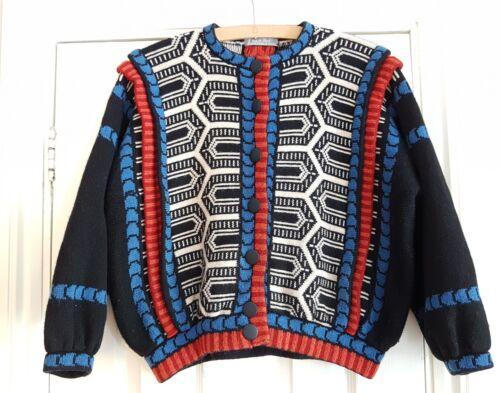 Linda Vintage Cardigan Blouson Jacket Kent 7XTXCxwqS