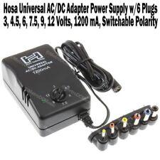 Hosa Universal Power Supply PSU Adapter ACD-477 AC DC Adapter