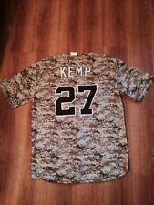 (lot of 3) MATT KEMP (San Diego Padres) Camo Jersey XL--BRAND NEW --SGA 5/30/15