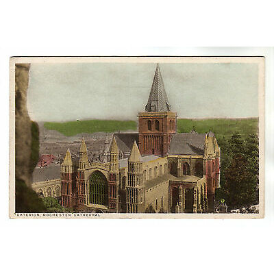 Exterior - Rochester Cathedral Photo Postcard 1946 / Medway