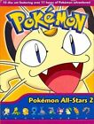 Pokemon All Stars Collection 2 10 Discs (2009 DVD New)