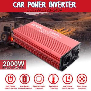2000-1500-Watt-DC12V-230V-Reiner-Sinus-Wechselrichter-Spannungswandler-Inverter