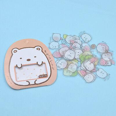 50 Pc Japanese Sumikko Gurashi Sticker Flakes Bag Sack Anlimals DIY Scrapbooking