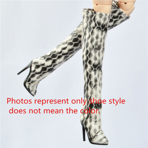 "Snakeskin pattern Shoes for 12/"" Poppy Parker Fashion royalty FR2 Nu Face Green"