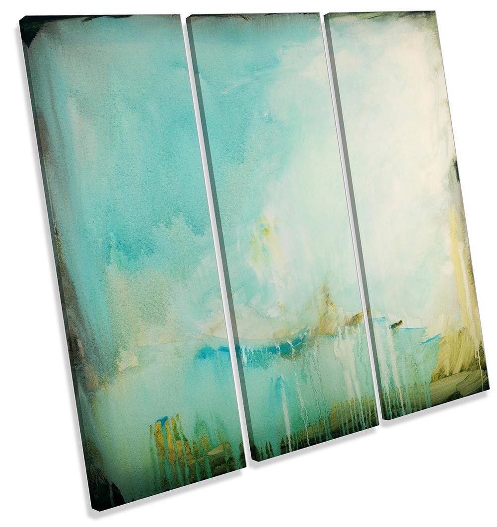 Simple Azul arte Lona Pared obra de arte Azul abstracto REPRO agudos Impresión Arte 84cb3c