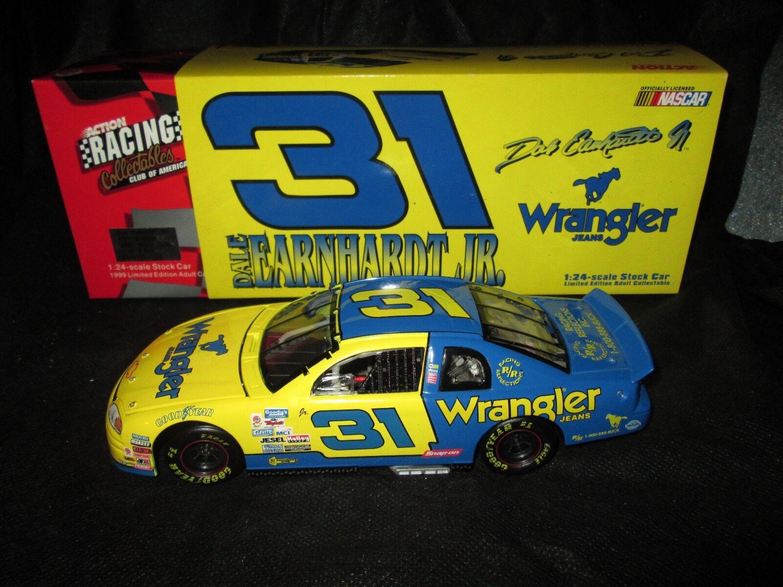 RCCA Action 1 24 CW Bank Dale Earnhardt Earnhardt Earnhardt Jr Wrangler 1997 Chevrolet MC e0fcae