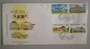 FDC-Malaysia-1991-Bangunan-Bersejarah-Siri-2-4v-Stamps-Cover