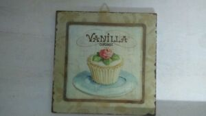 clayre-amp-eef-CUADRO-VAINILLA-Cupcake-decoracion-de-Pared-Shabby-Casa-Rural