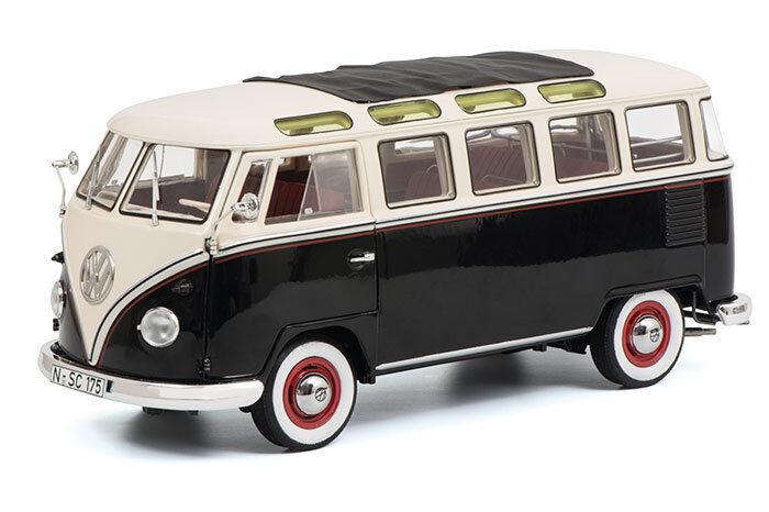 Cadeau de fin d'année, d'année, d'année, vente directe à l'usine VW t1b Samba, bus de Dickie-Schuco 1286 | Outlet  19f2a4