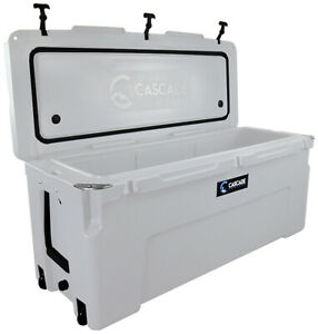 CASCADE-COOLERS-WHITE-150L-PRO-SUMMIT-SERIES-ROTOMOLD-ICE-CHEST-COOLER
