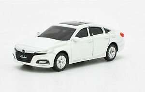 1-64-Scale-10th-Generation-Honda-All-New-Accord-2018-White-Diecast-model