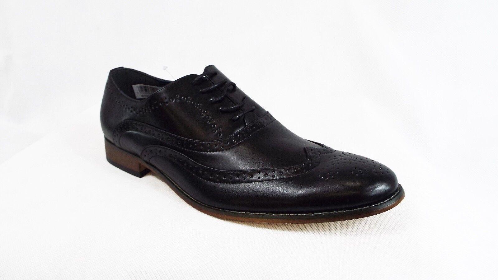 Mens Shoes Black Brogue Shoes Mens Wedding Formal Smart Casual 9d6f7b