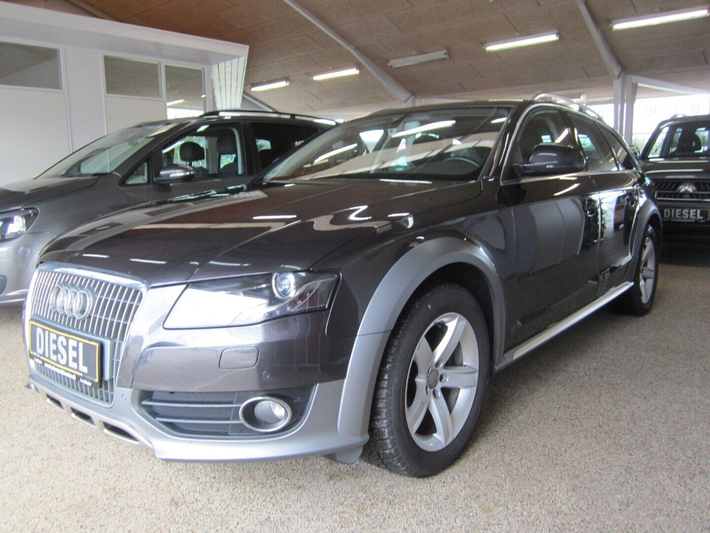 Audi A4 allroad 3,0 TDi 240 quattro 5d - 299.900 kr.