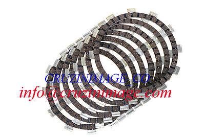 HONDA CB450K2-K7 CLUTCH PLATE SET 7 Friction Plates Include CD-1130