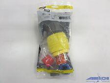 HUBBELL  28W74H AC Plug NEMA L14-30 Male Yellow Watertight 28W74H