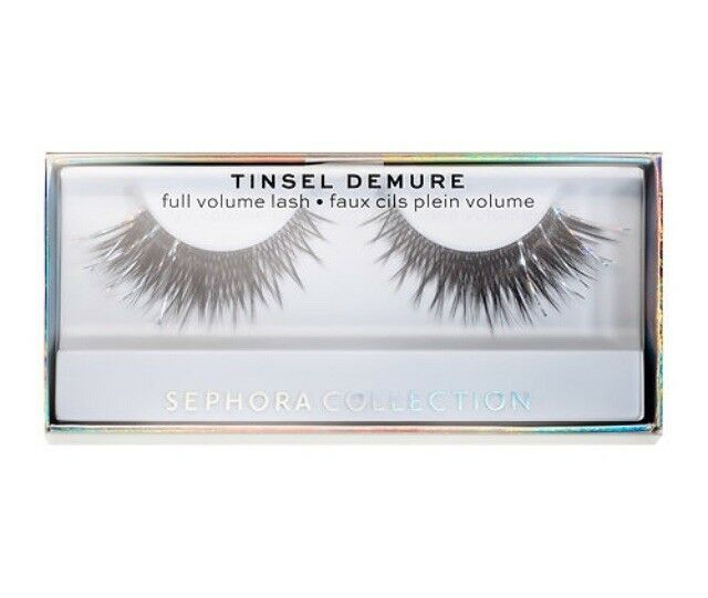 2b627aadf70 Sephora Collection Tinsel Time Demure False Lash See Receipt for sale  online | eBay