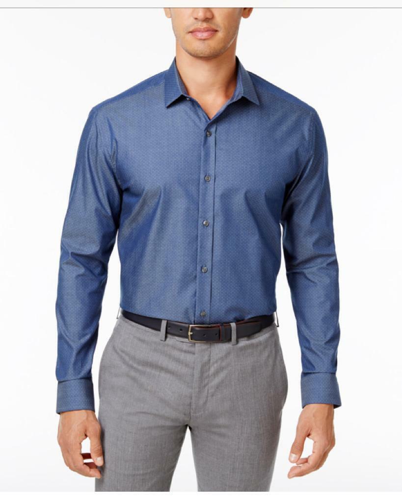 """Men/'s Designer Casual Shirts RRP £32 Size Med 15.5/"""""""