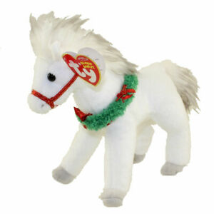 TY Beanie Baby - SLEIGHRIDE the Horse (6.5 inch) - MWMTs Stuffed Animal Toy