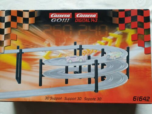 Carrera GO 61642 3D Support Stützensystem Kurvenkreisel 1:43 NEU OVP