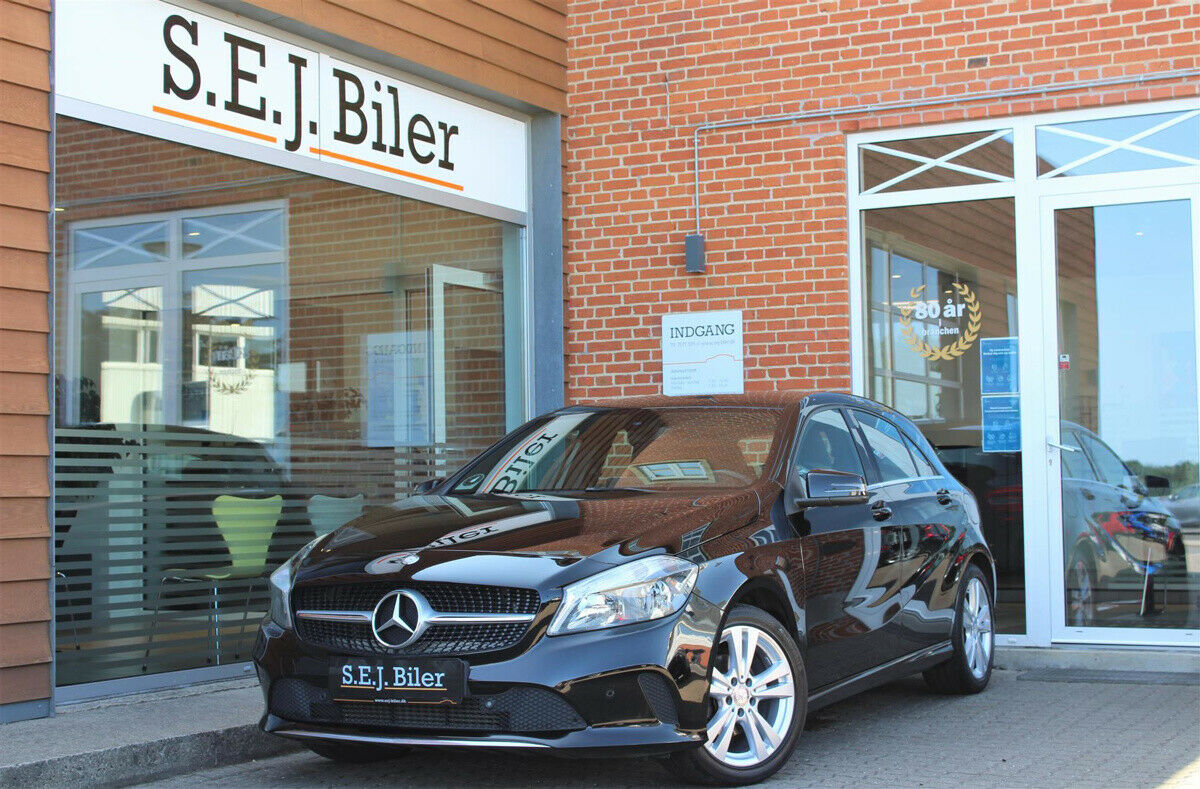 Mercedes A180 d 1,5 Urban 5d - 199.800 kr.
