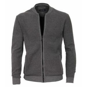 Moda melange da uomo Casa Sporty antracite grigio Cardigan tHq0gt
