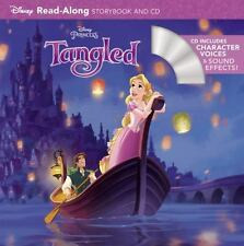 Read-Along Storybook and CD: Tangled by Disney Book Group Staff (2010, Paperback)