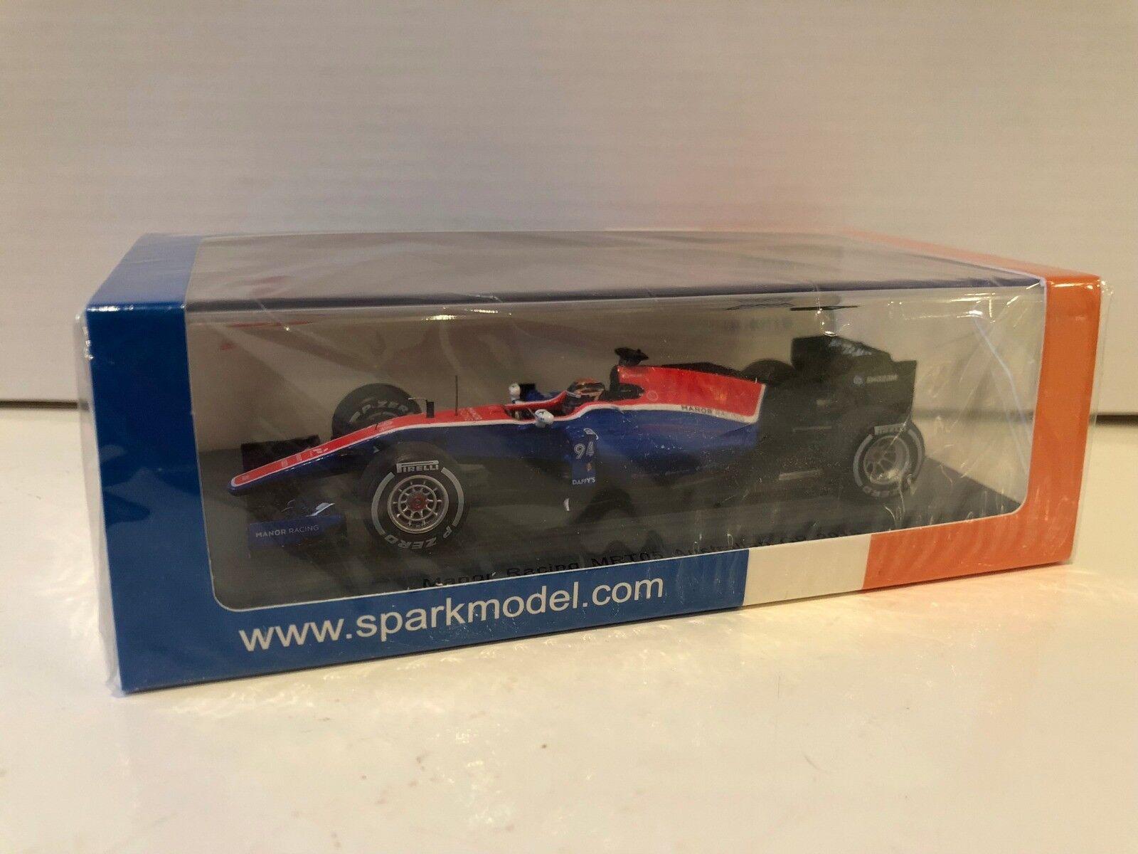 1 43 Spark Manor MRT05 Pascal Wehrlein Australian GP 2016 S5013
