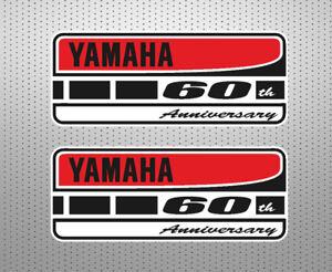 2-x-Pegatinas-yamaha-aniversario-stickers-decals-calcas-adhesivos-vinilos-c