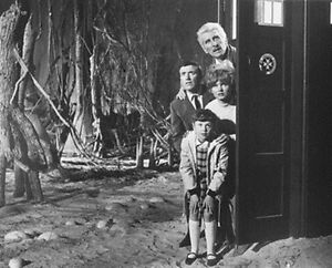 ROY-CASTLE-AS-IAN-PETER-CUSHING-AS-DR-WHO-8x10-Photo