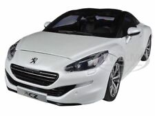 2012 PEUGEOT RCZ PEARL WHITE 1/18 DIECAST CAR MODEL BY NOREV 184782