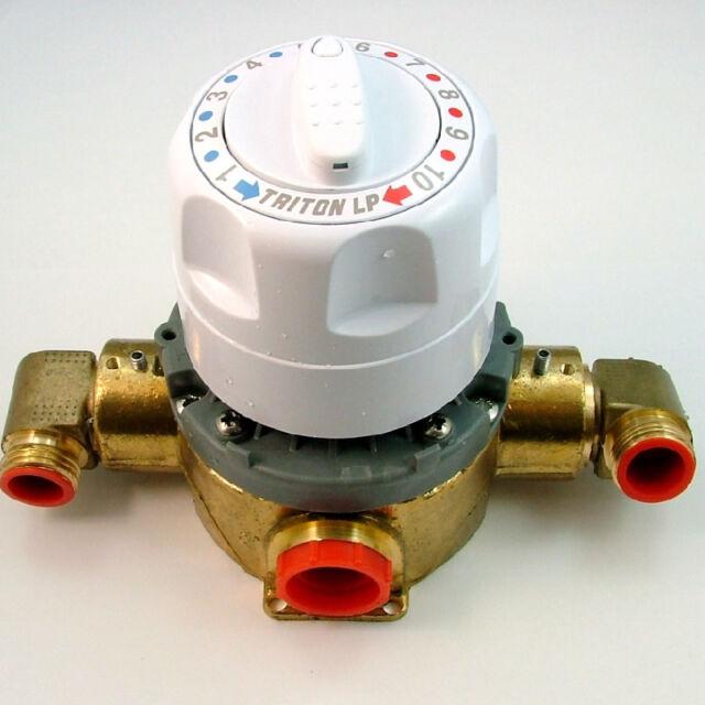 Triton 83304940 Low pressure mixing valve cartridge and brass housing