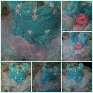 Cotton Candy Pageant Dress