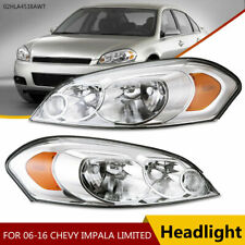 Lens Amber Corner Headlights Fit For 06 13 Chevy Impala06 07 Monte Carlo New Fits 2006 Impala