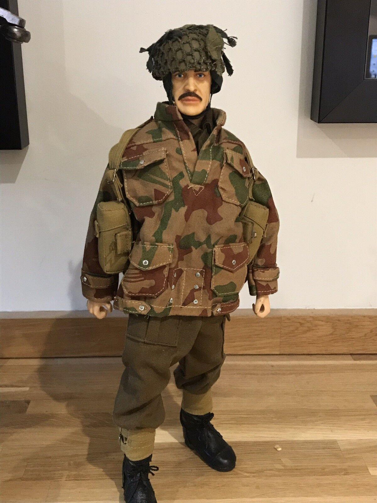 VINTAGE GRANDI Midnite British WWII Airborne Paracadutista-GI JOE, ACTION MAN