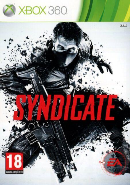 SYNDICATE / MICROSOFT XBOX 360 / NEUF SOUS BLISTER D'ORIGINE / VERSION FRANÇAISE