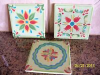 Southern Living At Home Hand Painted Provence Trivets
