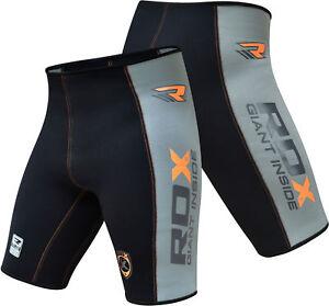 RDX-Compressione-Boxe-Thai-Pantaloncini-Sudore-MMA-Compression-Shorts-Uomo-IT