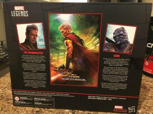"""Marvel Legends Series Thor Ragnarok 6/""""-Scale Movie-Inspired Grandmaster /& Korg"""