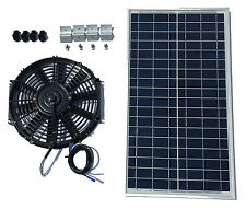 Amtrak Solar Attic Fan 40 Watt Solar Panel & 12 inch Fan