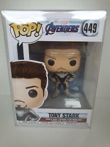 Marvel Avengers Tony Stark Funko Pop #449