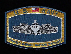 Enlisted-Surface-Warfare-Specialist-ESWS-HAT-PATCH-US-NAVY-VETERAN-PIN-UP-USS