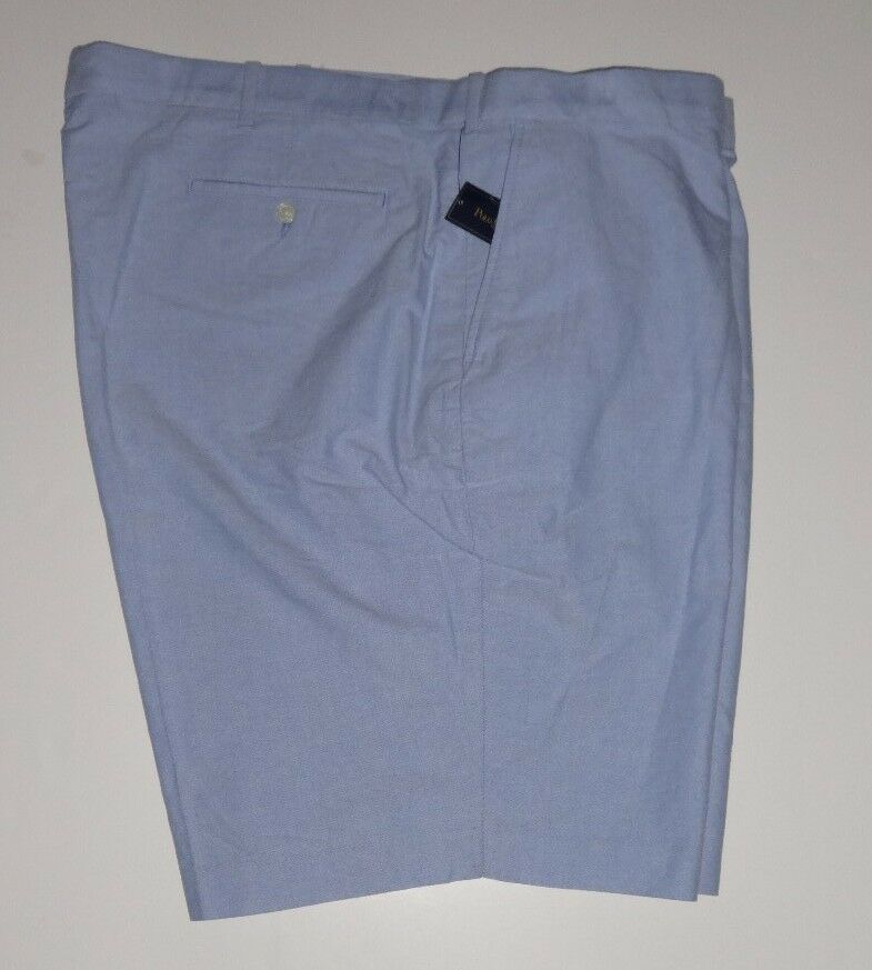 MENS BIG & TALL POLO RALPH LAUREN blueE CLASSIC OXFORD SHORTS NEW  52B